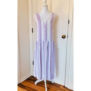 Urban Outfitters | Purple & White Striped Dress